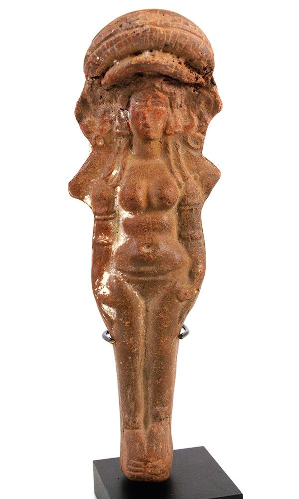 A Terracotta Figure of Isis–Aphrodite, Roman period, 2nd–3rd century A | Sands of Time Ancient Art