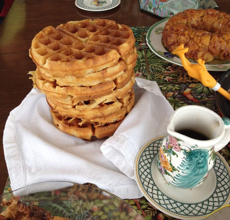 Make Brown Butter Yeast Waffles this weekend