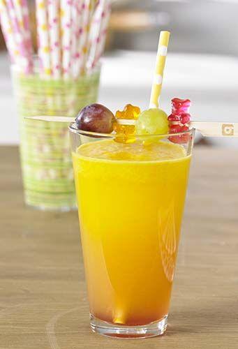 Limonade met gummibeertjes