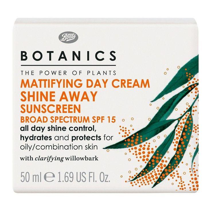 Botanics Shine Away Mattifying Day Cream SPF15 - 1.69 oz
