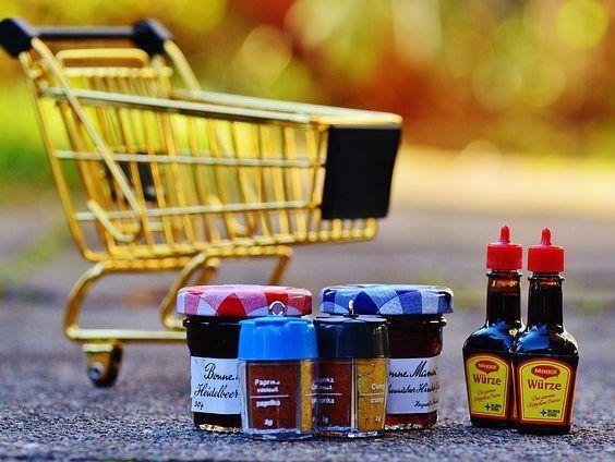 winkelwagentje - besparen op boodschappen - boodschappenbudget