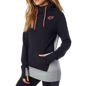 Fox Racing Women's Eager Hooded Sweatshirt      #jacket #snow #clothes #fashion #black #pink #white #teal #zip-up #pockets #hoodie #fall #winter #fox #foxracing