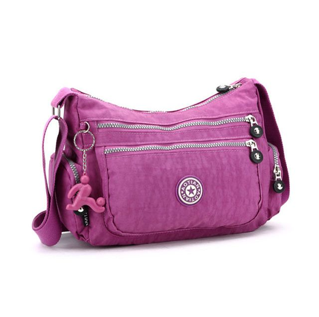 Recreational water women messenger bag Double side pocket one shoulder aslant package multi-level function women clutch  $16.48