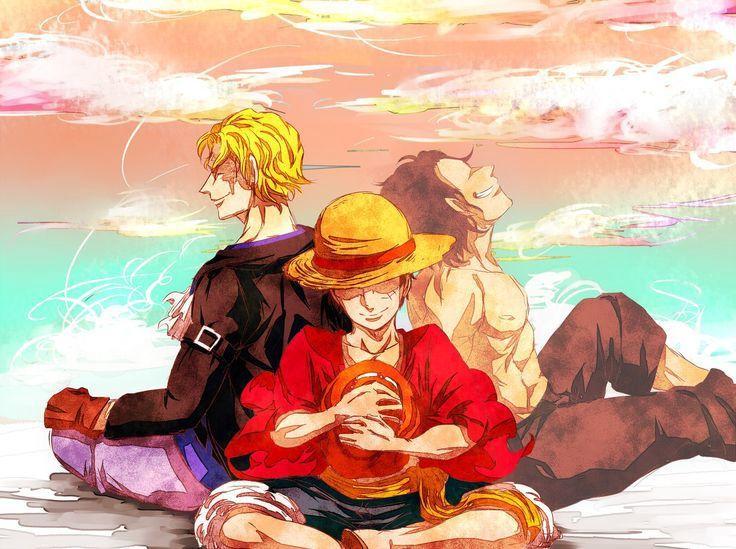 One Piece Asl One Piece Ace One Piece Anime Sabo One Piece