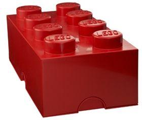 Lego, Oppbevaring, 8 Rød
