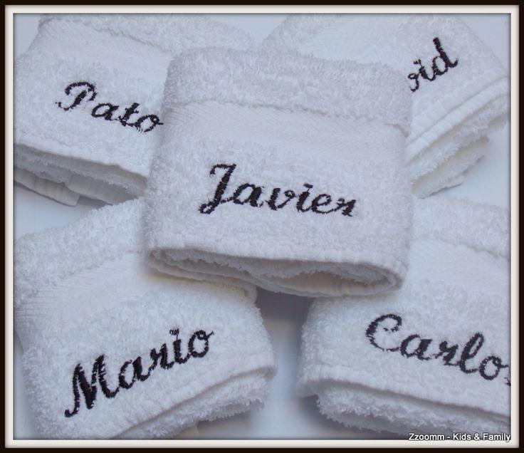 Para ellos toallas de mano personalizadas toallas - Toallas infantiles personalizadas ...