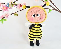 Ravelry: Bonnie With Bee Costume pattern by Havva Ünlü