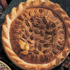 ... at Grandma's house was enjoying a piece of her irresistible pecan pie
