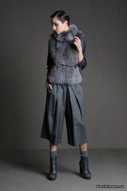 3 тренда сезона осень-зима 2015: бахрома, меховые шарфы, брюки-кюлоты