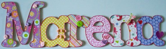 Beautiful Wooden Names for Children