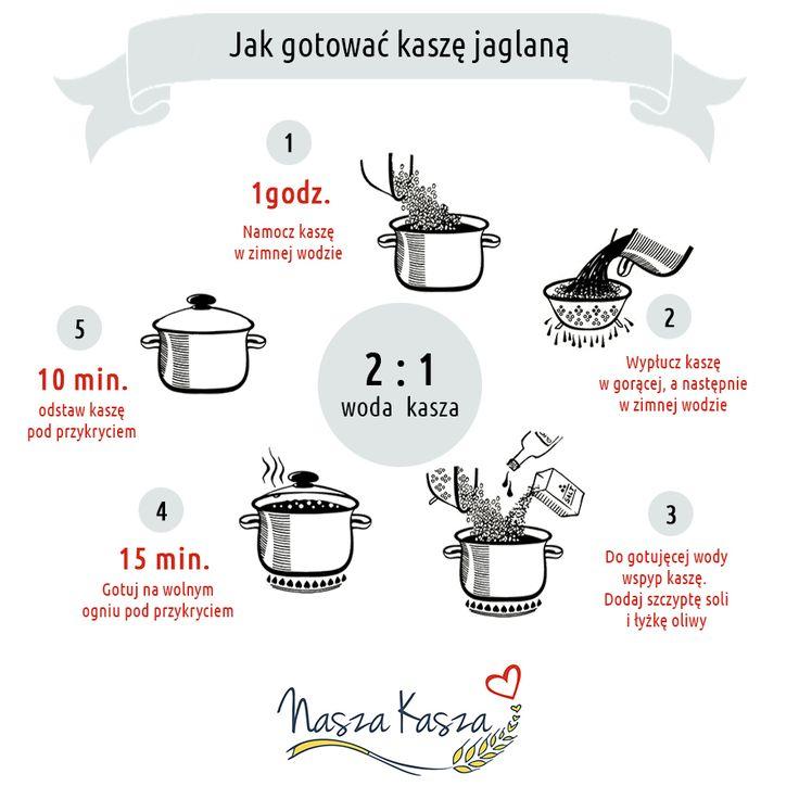 jak gotować kaszę jaglaną