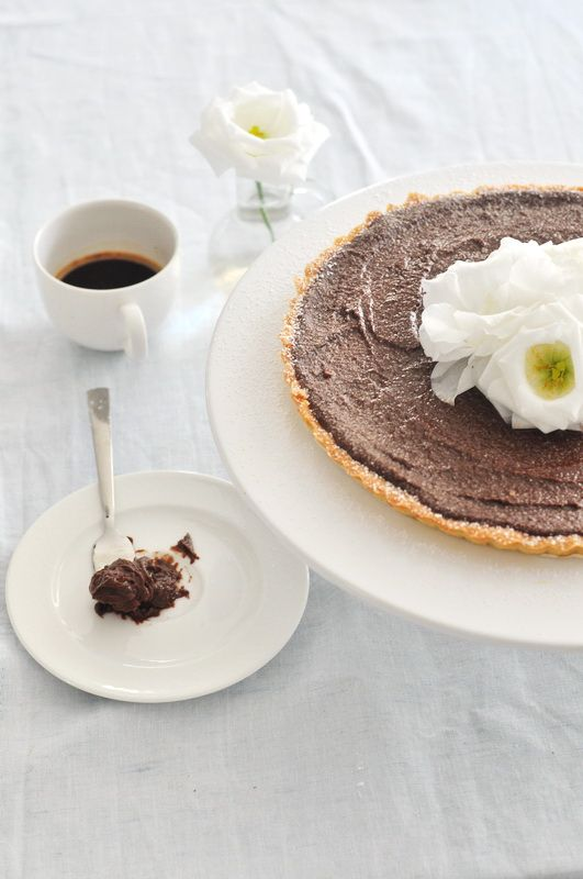 Double Chocolate Tart | Cakes | Pinterest
