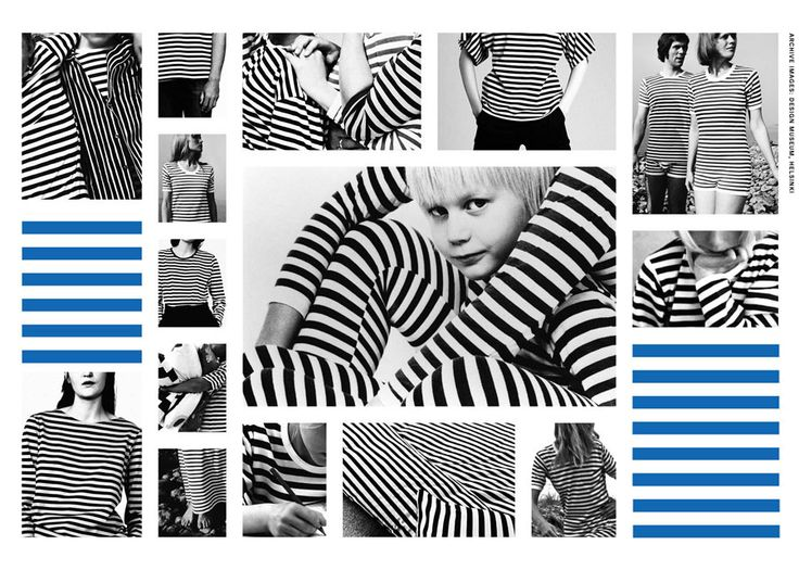 even stripes for equality  In 1968 Annika Rimala created a new symbol for the era of unisex. Evenly striped, truly timeless.