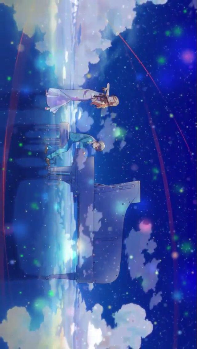 Shigatsu Wa Kimi No Uso Your Lie In April Kosei And Kaori