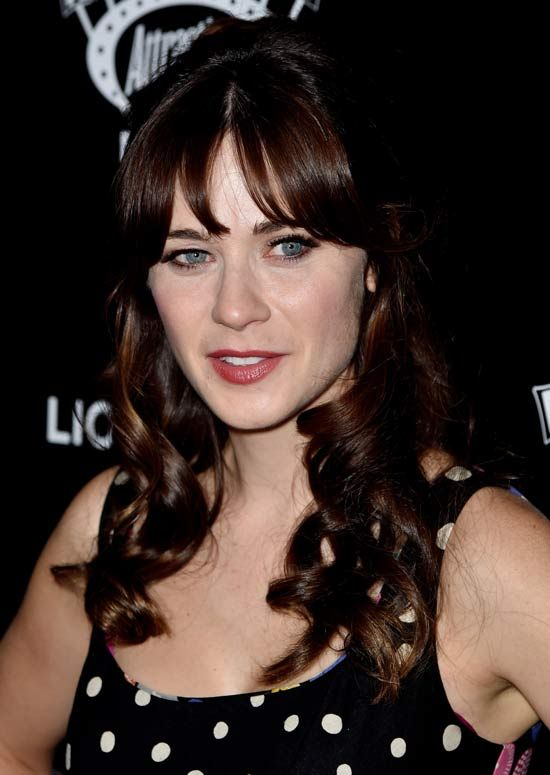 Latest Hairstyles For Long Hair - Bangs with waves