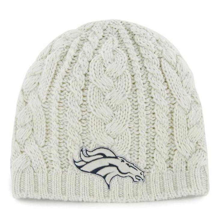 Denver Broncos Ladies Shawnee Knit Hat