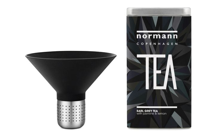 Giftbox with Normann Tea and Tea Strainer