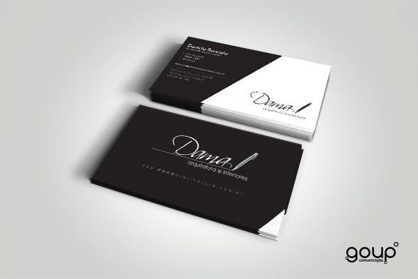 Cartão de visita - DAMA