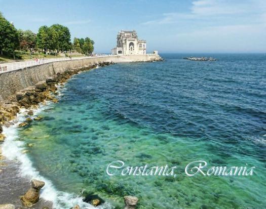 cazino Constanta casino Romania dobrogea Black Sea beautiful scenery