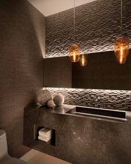 Bathroom Mirrors Lights Behind 41 best tile work behind bathroom mirror images on pinterest