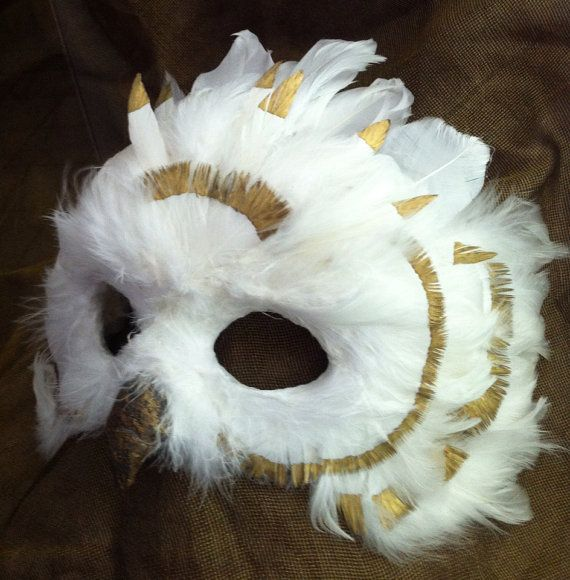 Snow Owl Queen  / Venetian Specialty Custom by MaskedEnchantment, $140.00