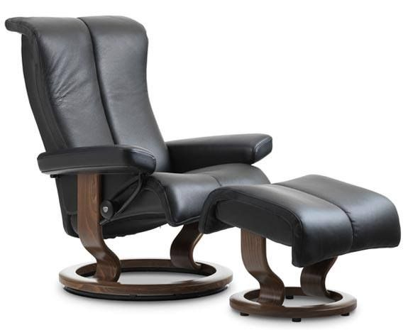 Leather Recliner Chairs | Scandinavian Comfort Chairs | Recliners