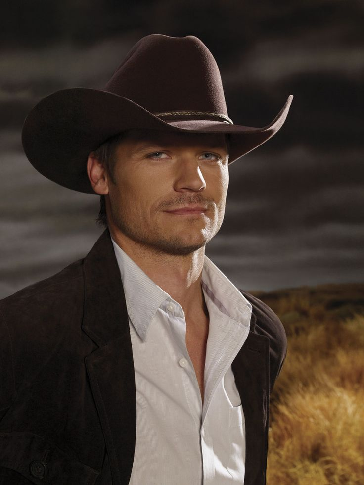 Bailey Chase stars as Branch Ada in season 3 of Saving Grace. He now stars on Longmire on A.