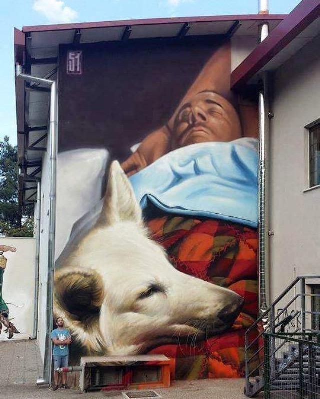 New Street Art by insane51 in Imathia, Greece