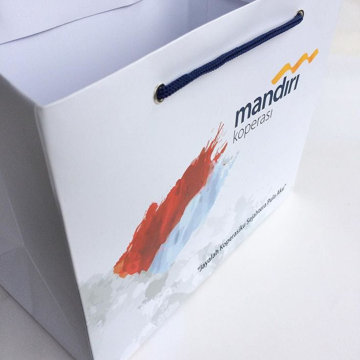 Jayalah koperasiku sejahtera pula aku - paper bag untuk mandiri koperasi  Proudly printed in Indonesia by http://ift.tt/2lBNAkc #percetakan #jakarta #maucetak #design #printing #marketing #designinpiration #picoftheday #photooftheday #branding #onlineshop #freeongkir #paperbag #shoppingbag #taskertas #packaging #mandiri #bank #banking #finance