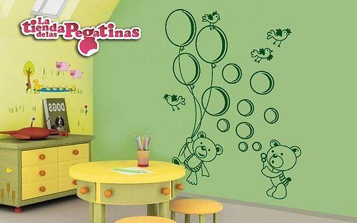 Pin by la tienda de las pegatinas on vinilos infantiles for Pegatinas habitacion infantil