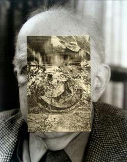 John Stezaker Old Mask VII  2006  Collage  24.5 x 19.5 cm
