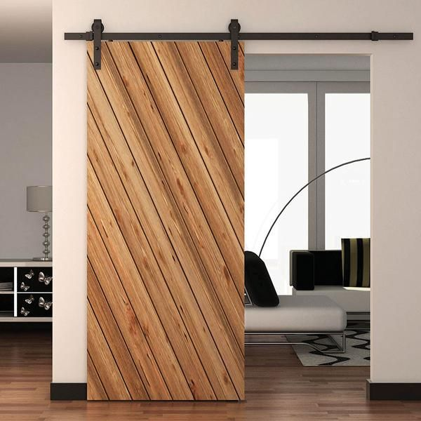 Classic Strap Single Wood Door Kits Sliding Doors Interior Doors Interior Interior Barn Doors