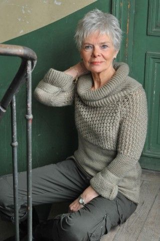 This is who I think I am close to in resembling or wanting to resemble at the age of 56.