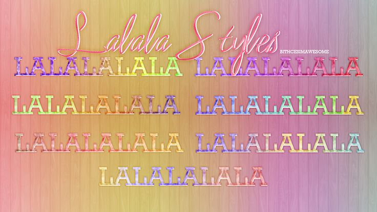 Lalala Styles by BitchesImAwesome