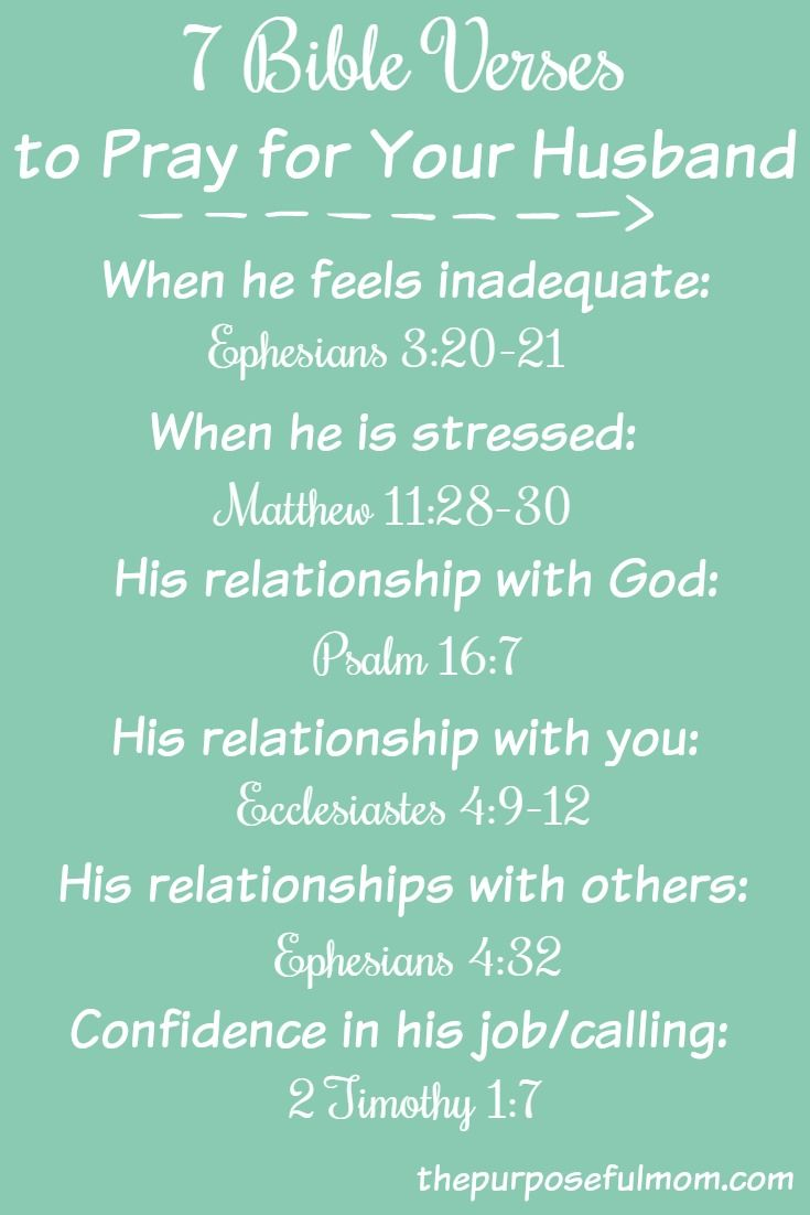 Bible Verses About A Wife Loving Her Husband