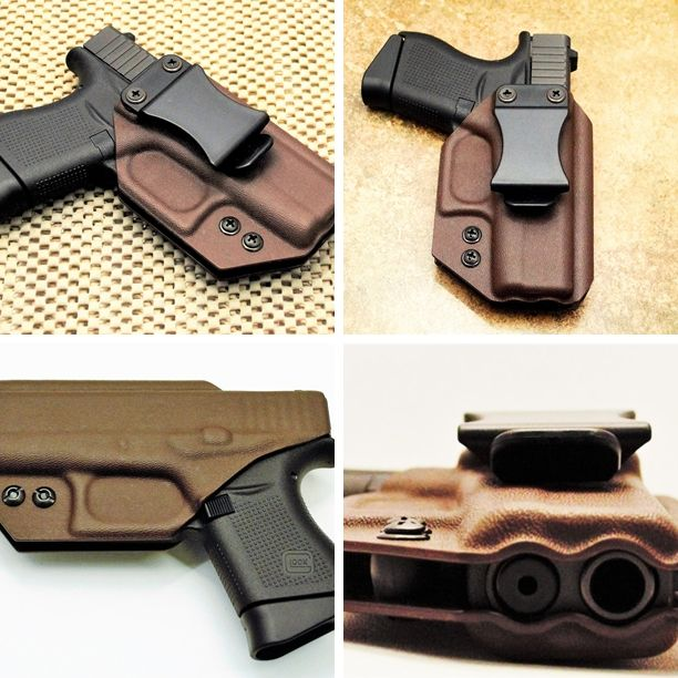 Smith and Wesson M&P Compact 9/40   Custom IWB Kydex Holster   Chocolate Brown   Appendix Carry   Straight Draw   High Quality  Holsters - All IWB Holsters are meant to be worn on the inside of the pants with a belt only.   This is for a High Quality - High Definition -  Kydex Holster   100% Satisfaction Guarantee!   Our Inside Waistband (IWB) Kydex Holster is both lightweight and concealable for everyday carry with truly amazing quality. The robust design allows you to draw and re-holster…