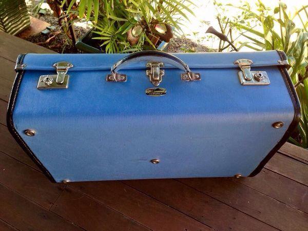 Restored 1950's suitcase