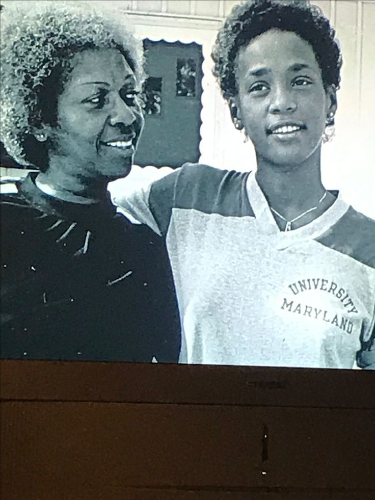 """Whitney Houston w/Cissy Houston (about age 17) - from the documentary """"Whitney Houston: Can I Be Me"""""""