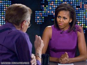 2012/05/08 michelle obama on larry king live
