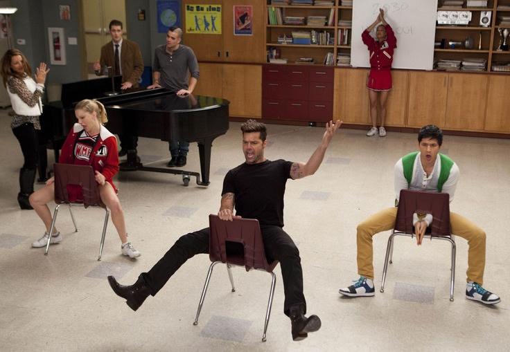 Ricky on Glee!!