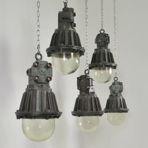 Lovely vintage Industrial lamps – We collect similar unique beauties – Only/Once – www.onlyonceshop.com