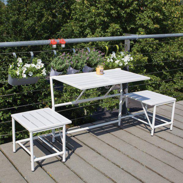 klappbare gartenbank aluminium 184412 eine. Black Bedroom Furniture Sets. Home Design Ideas