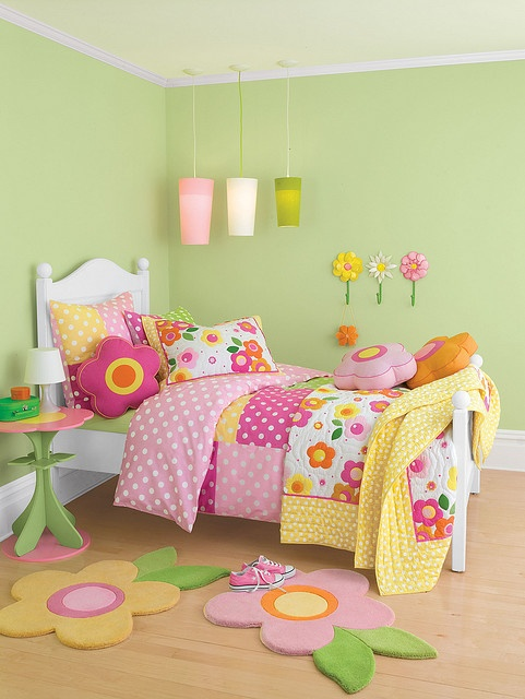 Untitled Girls room decor, Eclectic kids bedding, Kid beds