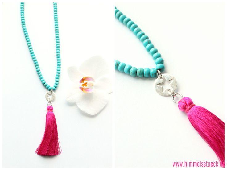 Die Besten 25+ Halskette Selber Machen Ideen Auf Pinterest