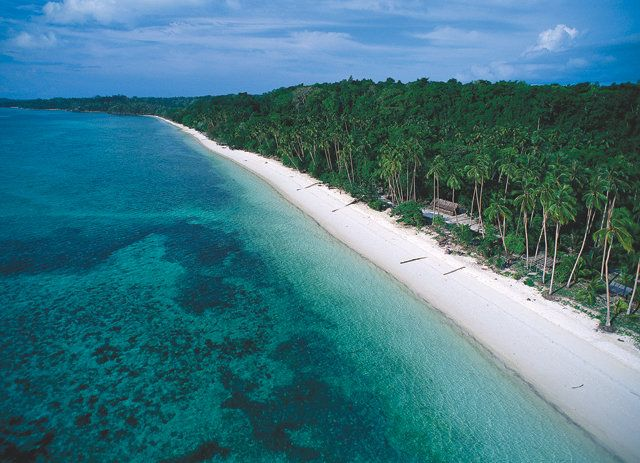the softest beach of South East Asia, Ngurbloat Beach, South East Moluccas, Indonesia
