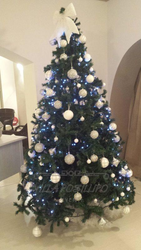8 Dicembre facciamo l'albero di Natale con Villa Posillipouffer