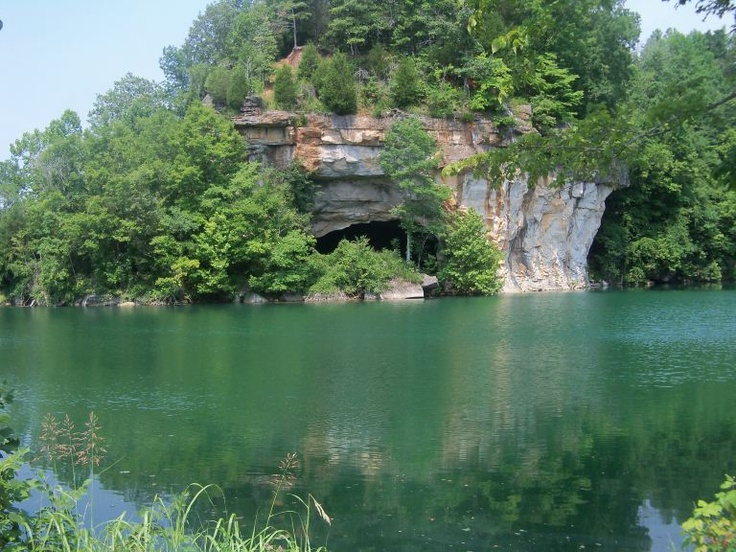 Limestone Quarry Cave in Erin, TN.