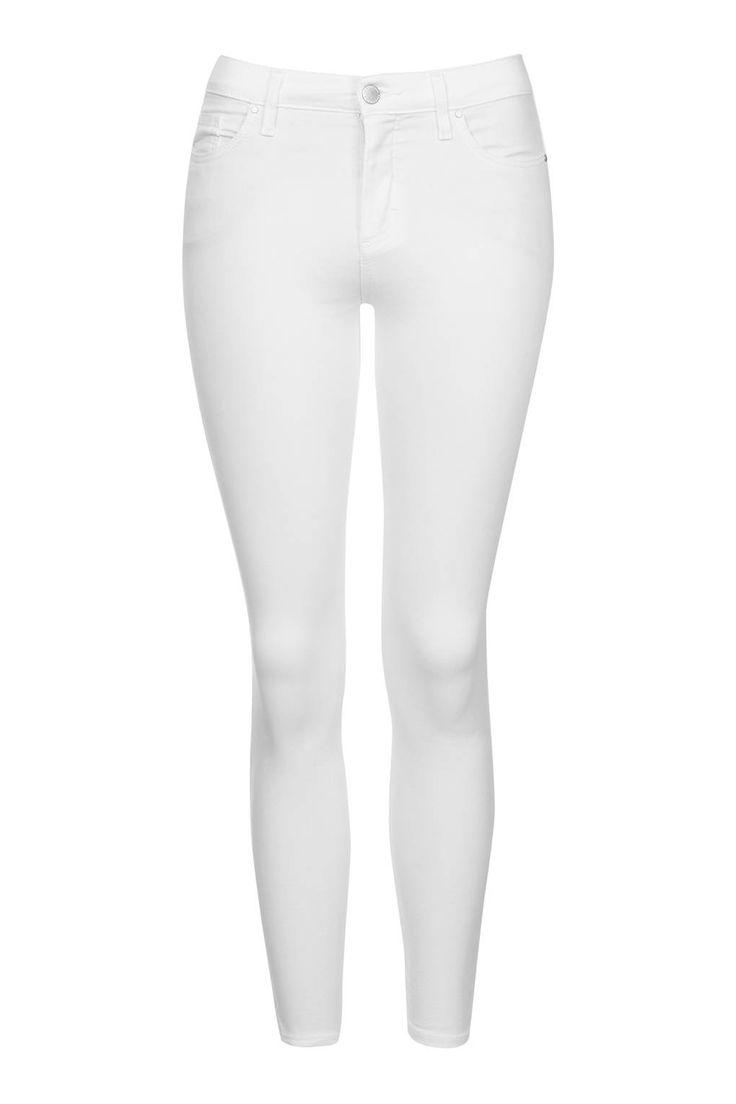 white skinny jeans #topshop