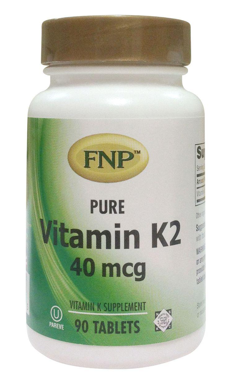 Vitamin K-2 40 mcg