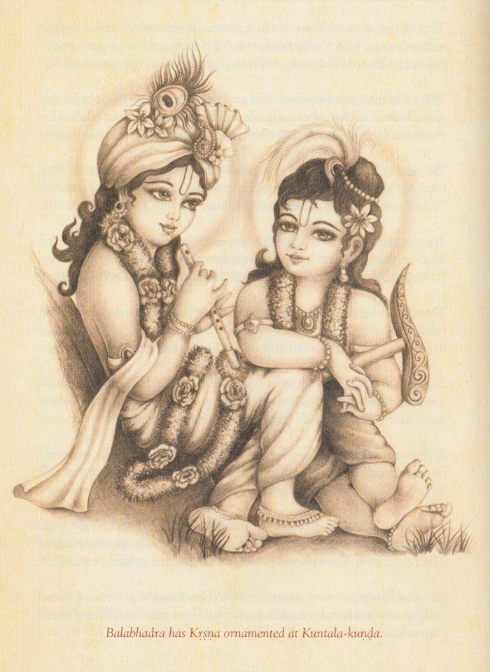 The cute brothers Shyam N Balram